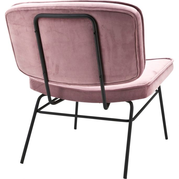 Lounge Stoel Vice - Old Roze