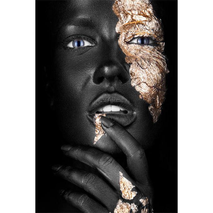 Wanddecoratie Noir Goldest 90x135cm