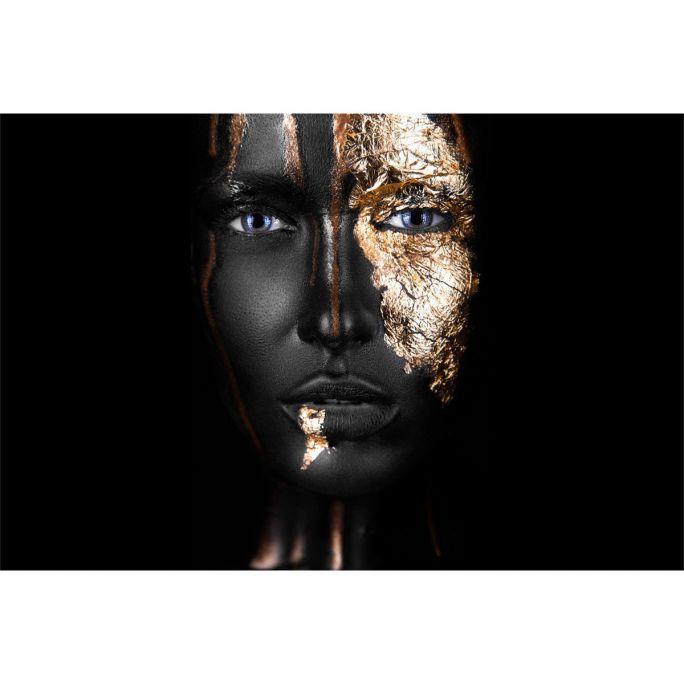 Wanddecoratie Noir Gold 120x80cm