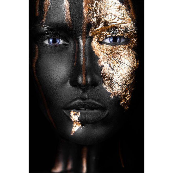 Wanddecoratie Noir Gold 80x120cm