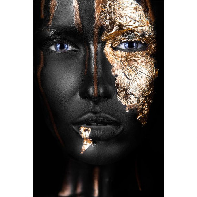 Wanddecoratie Noir Gold 90x135cm