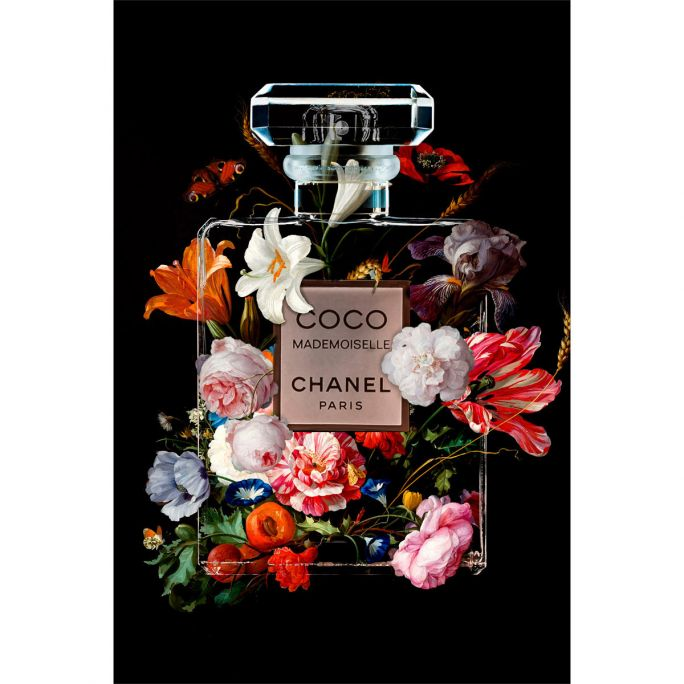 Wanddecoratie The Perfume Collection VI 90x135cm