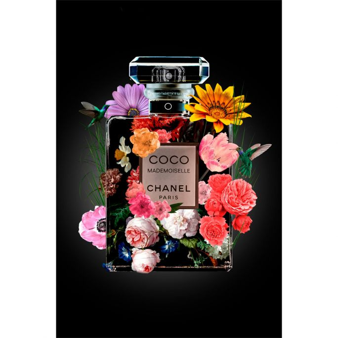 Wanddecoratie The Perfume Collection V 100x150cm