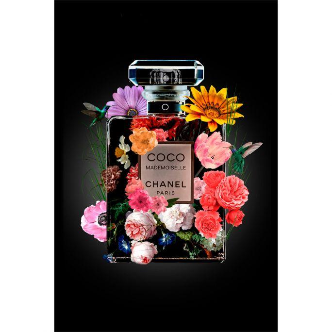 Wanddecoratie The Perfume Collection V 120x180cmmet zwarte baklijst