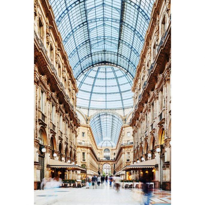 Wanddecoratie Galleria Vittorio Emanuele Milano 100x150cm