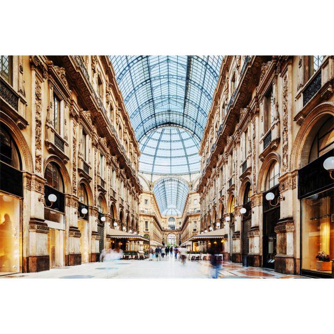 Wanddecoratie Galleria Vittorio Emanuele Milano 120x80cm