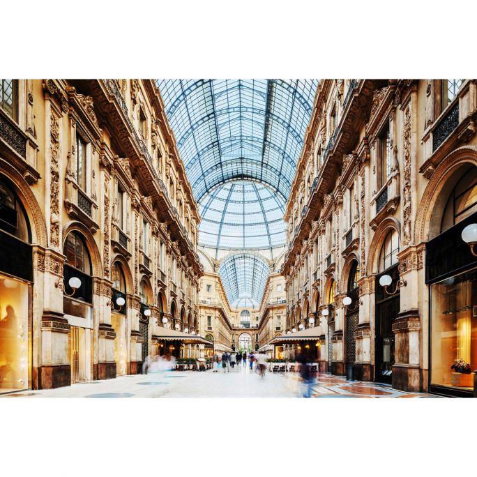 Wanddecoratie Galleria Vittorio Emanuele Milano 180x120cm