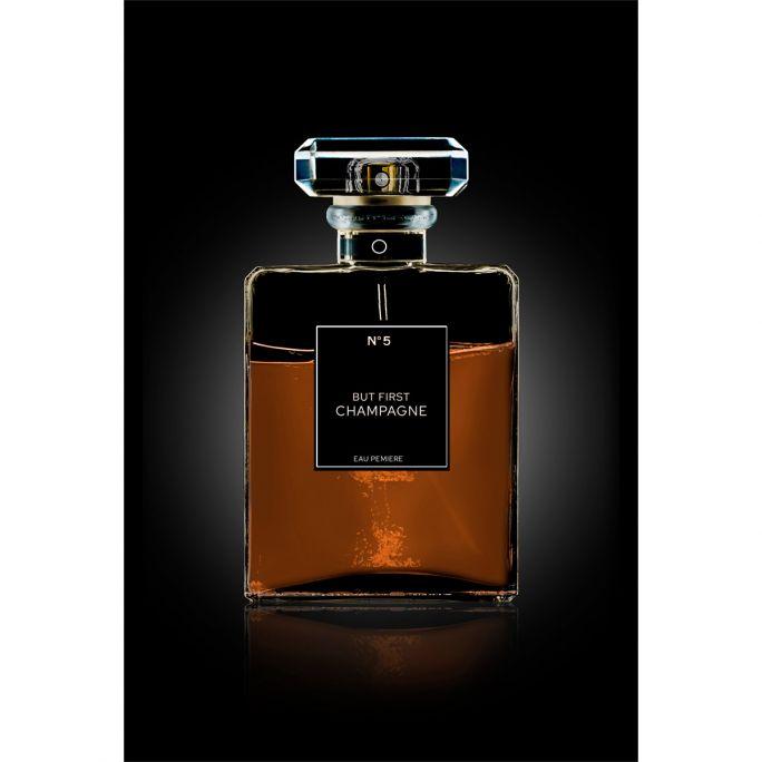 Wanddecoratie The Perfume Collection III 100x150cmmet zwarte baklijst