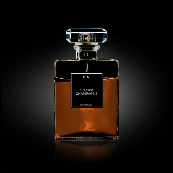 Wanddecoratie The Perfume Collection III 120x120cm