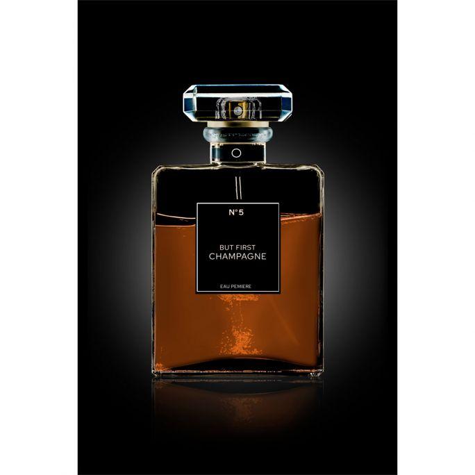 Wanddecoratie The Perfume Collection III 120x180cmmet zwarte baklijst