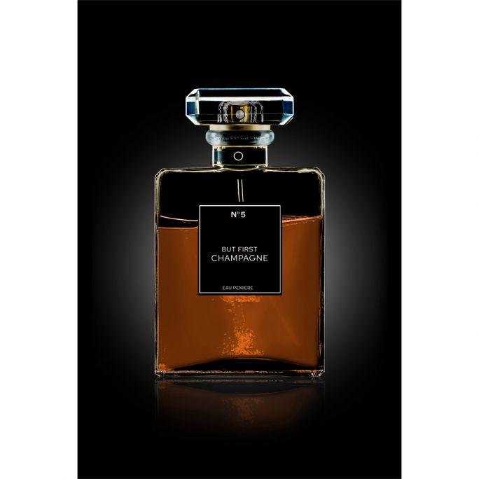 Wanddecoratie The Perfume Collection III 80x120cmmet zwarte baklijst