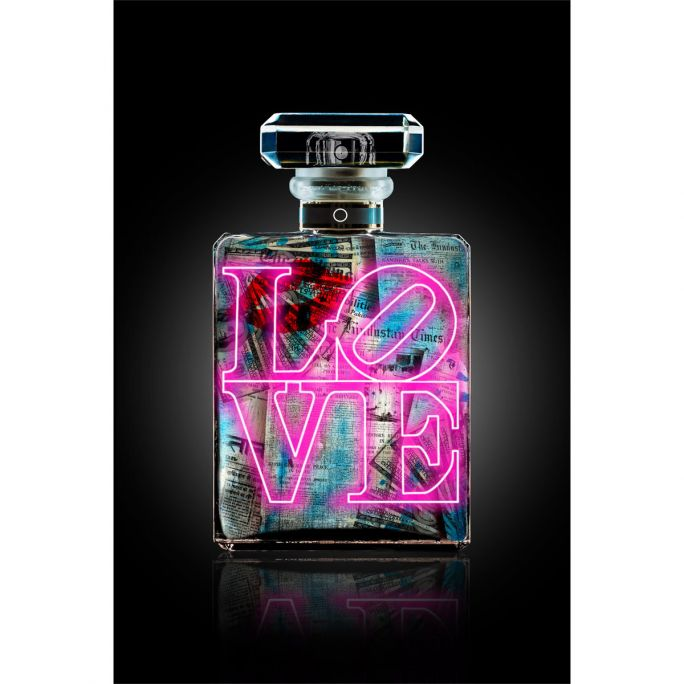 Wanddecoratie The Perfume Collection IV 90x135cm