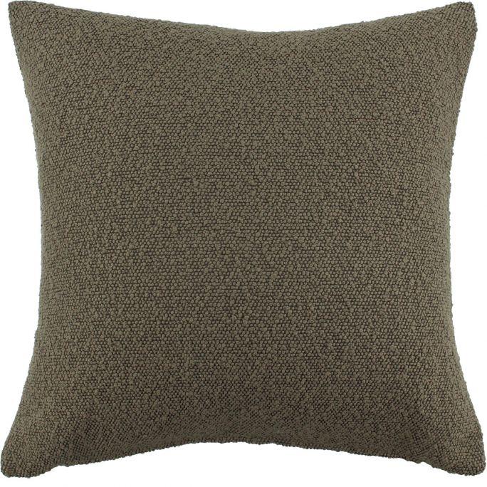 Kussenhoes Boucle 45x45 bruin
