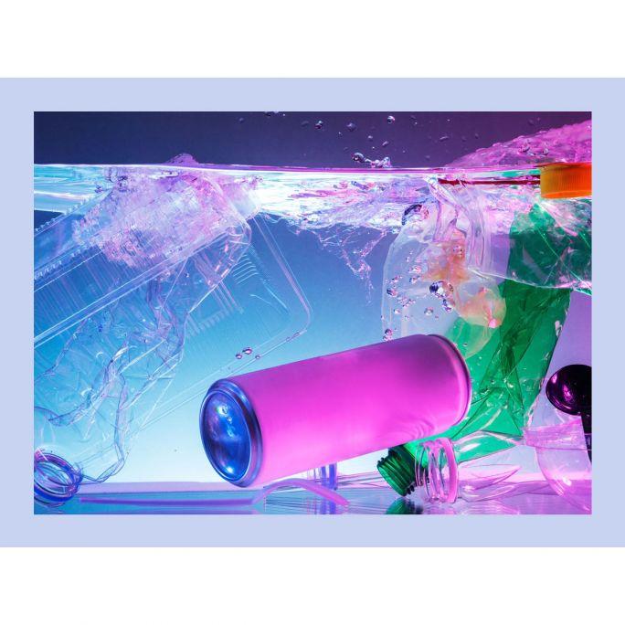 Wanddecoratie Funky 014 80x60cm