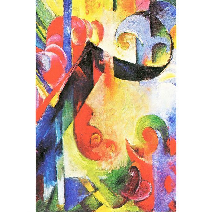 Wanddecoratie Art facsimile 056 98x148cm