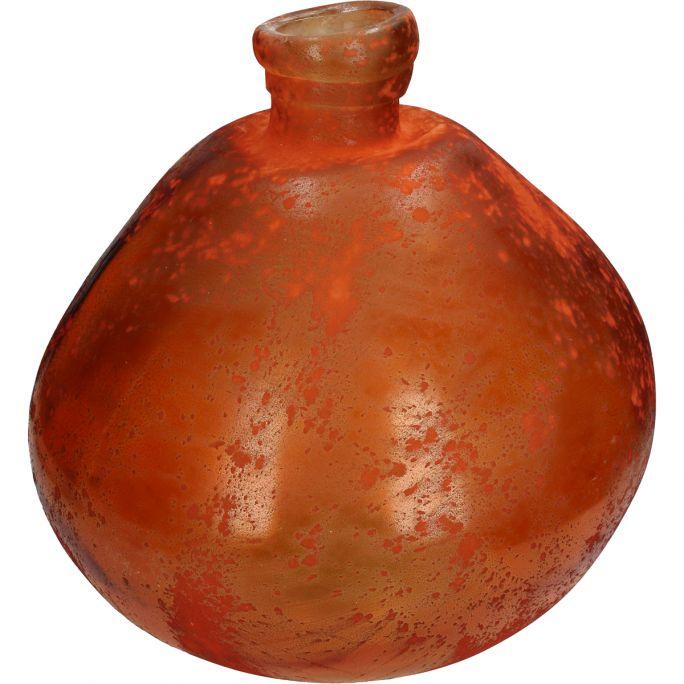 Vaas Recy 33cm hoog oranje