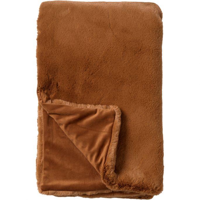 Plaid Zinzi 140x180 Tobacco Brown