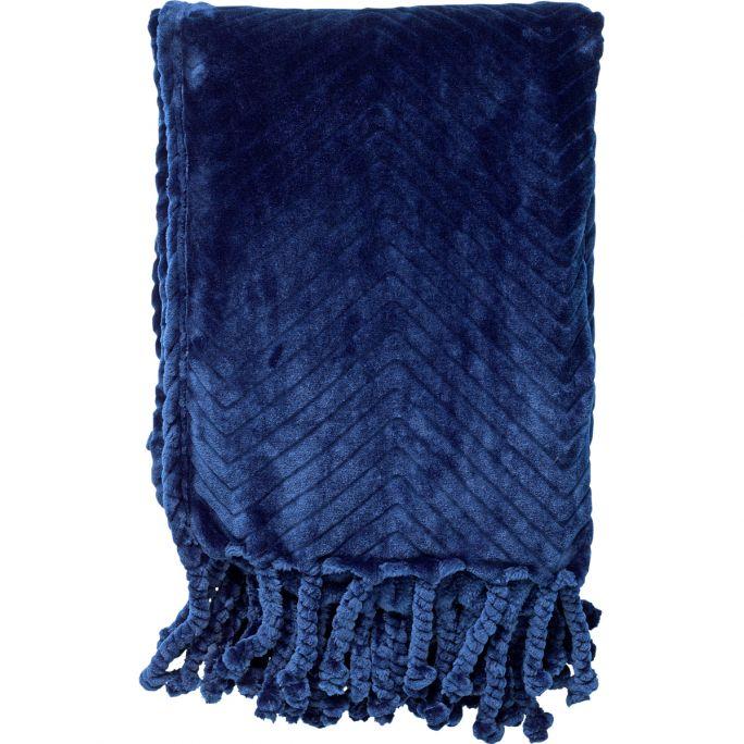 Plaid Ziggy 140x140 Inignia Blue
