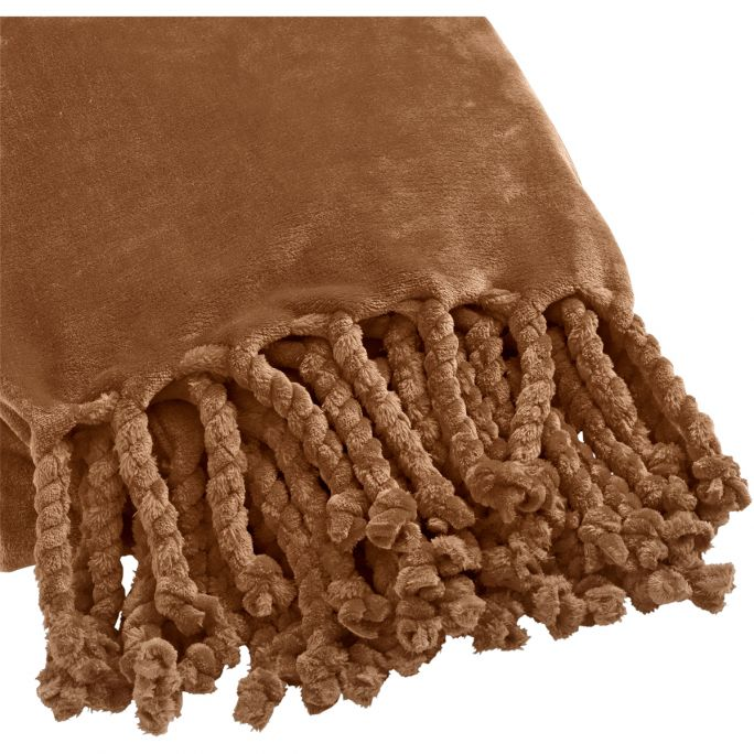 Plaid Florijn 150x200 Tabacco Brown