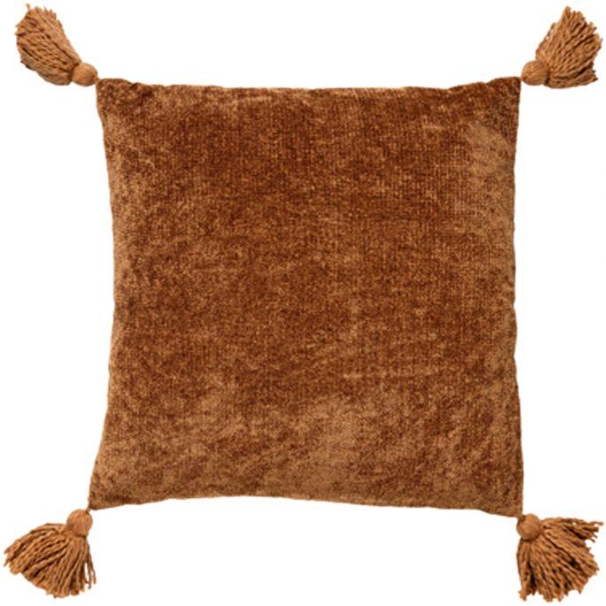 Kussen Nino 45x45 Tobacco Brown