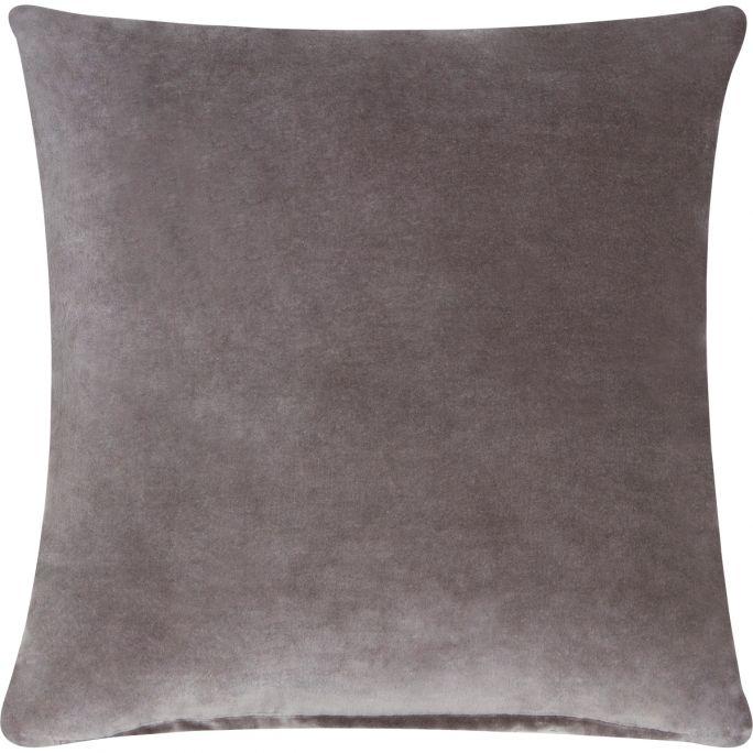 Kussen Solid Velvet Light Grey