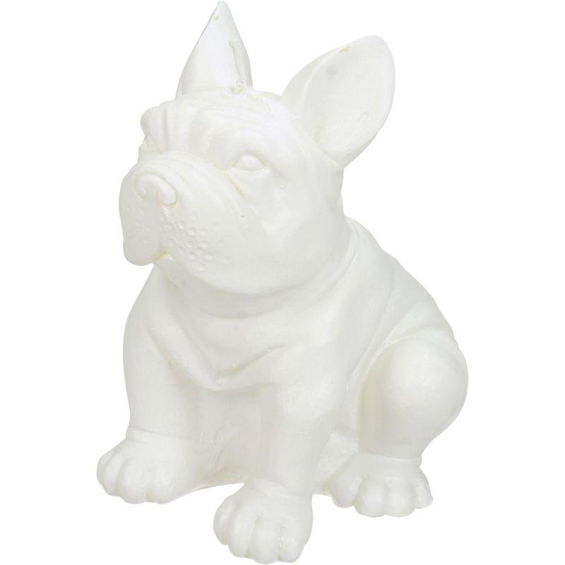 Image of Kaars Bulldog wit
