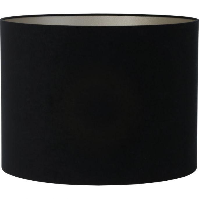 Lampenkap Velours 50-50-38 zwart