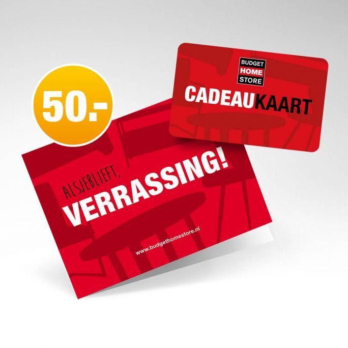 Budget Home Store Cadeaukaart 50 euro