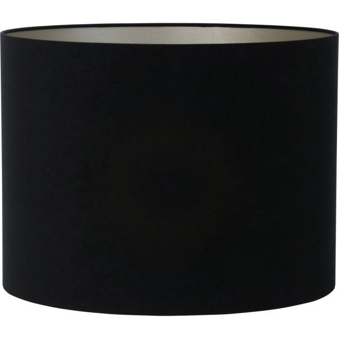 Kap Velvet 40x40x30cm zwart taupe