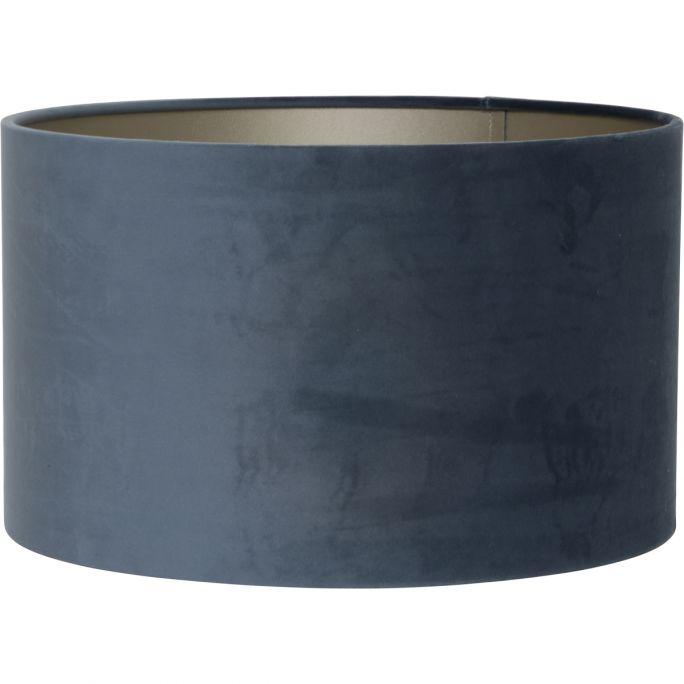 Kap Velvet 40x40x30cm Dusty Blue