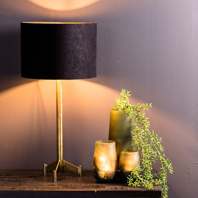 Lampvoet Denny antiek brons