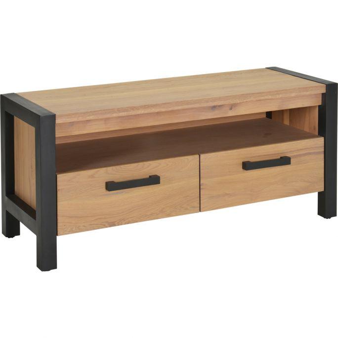 TV meubel 2 laden, 1 open vak Ponto