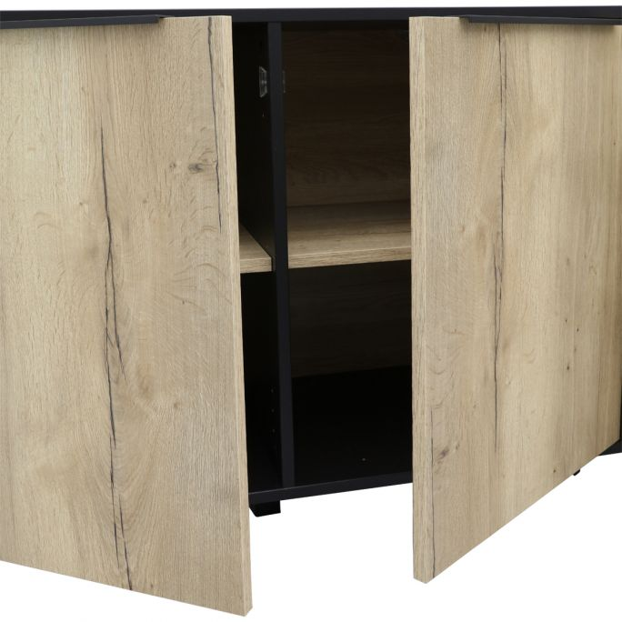 Dressoir 2 deuren, 3 laden Copina