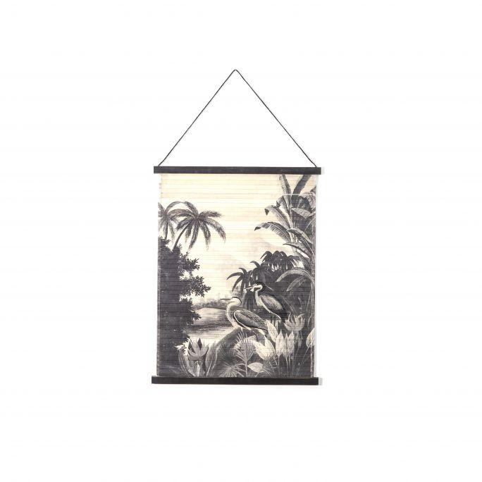 Wanddecoratie Miyagi jungle small