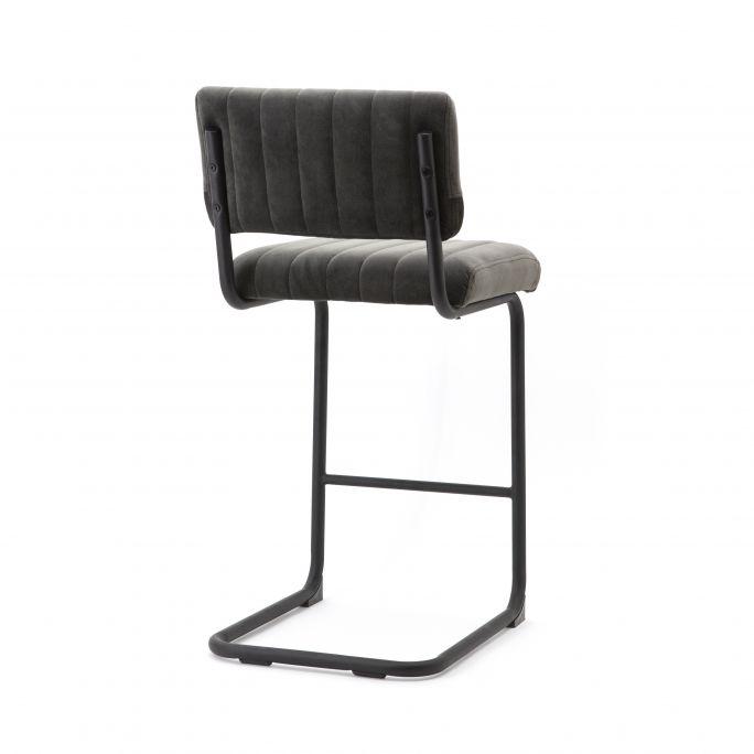 Bar chair low Operator - grey