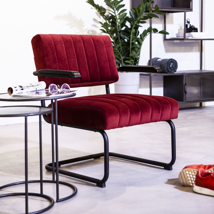 Fauteuil Operator rood
