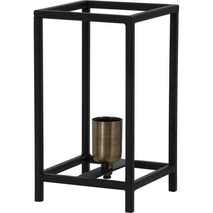 Tafellamp Marly 14x14x25cm mat zwart