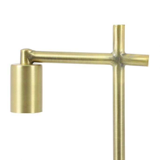 Vloerlamp Charlie 28,5x15x152cm antiek brons