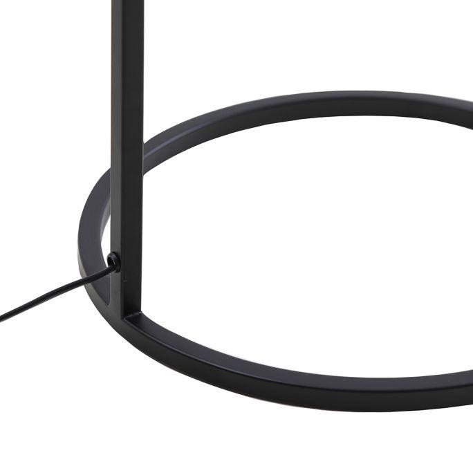 Tafellamp Savea 45cm hoog zwart en donkergroen