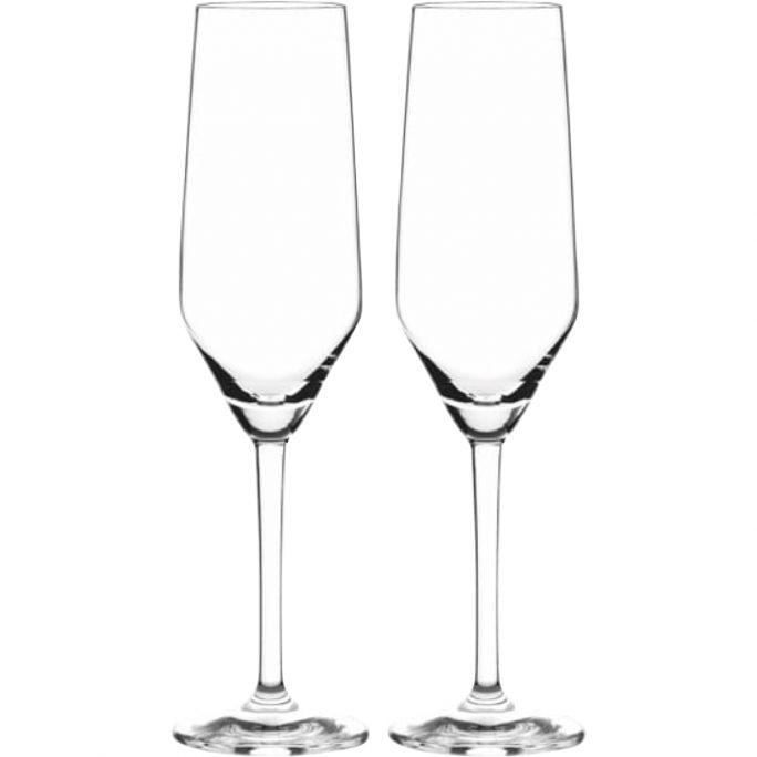 Champagneglazen Partyhardy set van 2