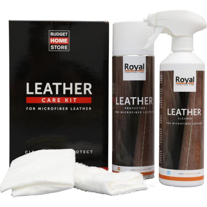 Microfiber Leather Care Kit 2x500ml