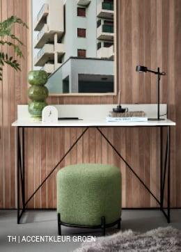 Tips inspiratie van Trendhopper accentkleur groen in je interieur.