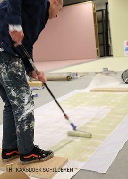 Trendhopper DIY kaasdoek schilderen