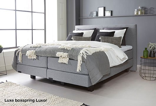 Luxe boxspring luxor bij budget home store