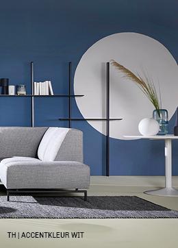 Tips inspiratie van Trendhopper accentkleur wit in je interieur.