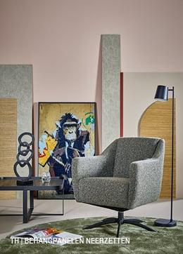 Trendhopper DIY behangpanelen neerzetten ter decoratie