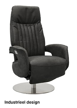 Budget Home Store relaxfauteuil industrieel design