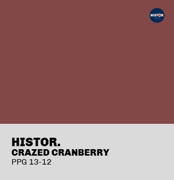 Histor Crazed Cranberry PPG13-12