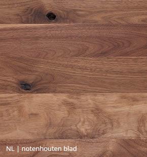 NLwoont notenhouten tafel op maat