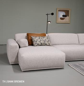 Bank Bremen in een minimalistisch interieur van trendhopper